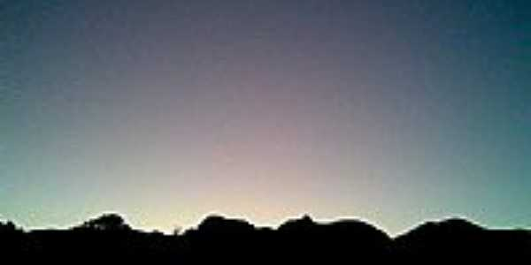 Pôr do Sol nas Montanhas-Foto:Fabrício Marcolino