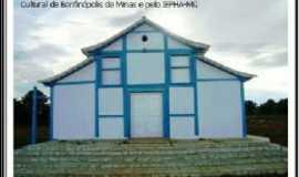Bonfinópolis de Minas - Igreja de Santo Antonio das Lages, após a restauração em Maio de 2011, Por Poeta Nunes de Souza