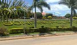 Bonfinópolis de Minas - Entrada da cidade