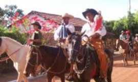 Bonfinópolis de Minas - Festa do padroeiro Sagrado coração de Jesus no Riacho das Pedras em 2009, Por Geovanio José da Silva