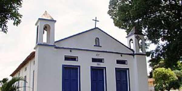 Bonito de Minas-MG-Matriz do Senhor Bom Jesus-Foto:Vicente A. Queiroz