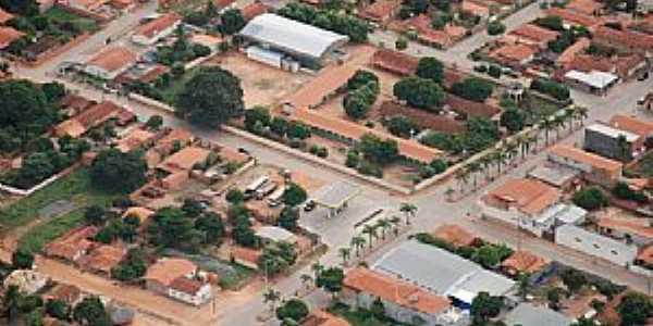 Bonito de Minas-MG-Vista parcial da cidade-Foto:Denes Melo