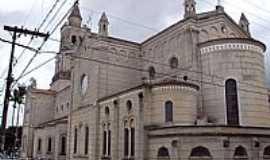 Borda da Mata - Borda da Mata-MG-Lateral e fundos da Basílica de N.Sra.do Carmo-Foto:alsibim