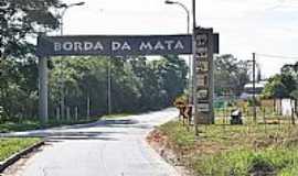 Borda da Mata - Borda da Mata-MG-Pórtico de entrada da cidade-Foto:Jorge Siqueira