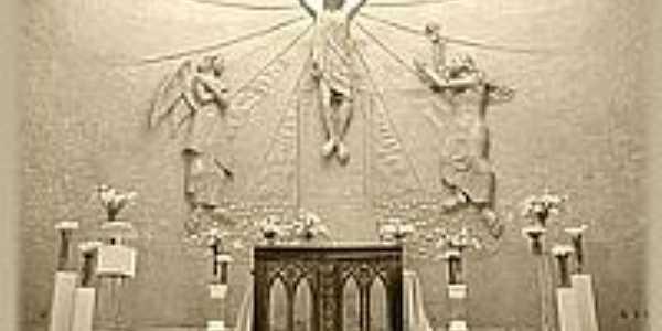Altar da nova igreja