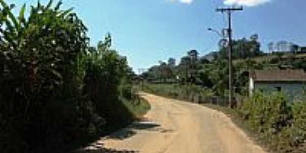 Brazópolis-MG-Rua do Bairro V-Foto:edupallaro