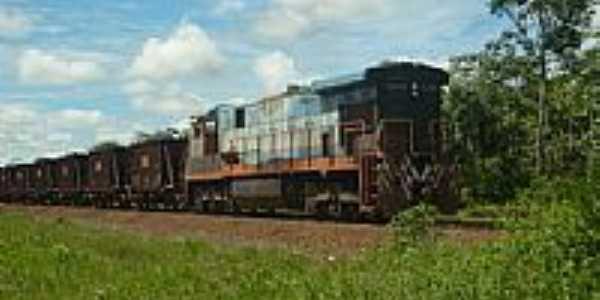 Comboio de Minérios-Foto:Alan.Kardec