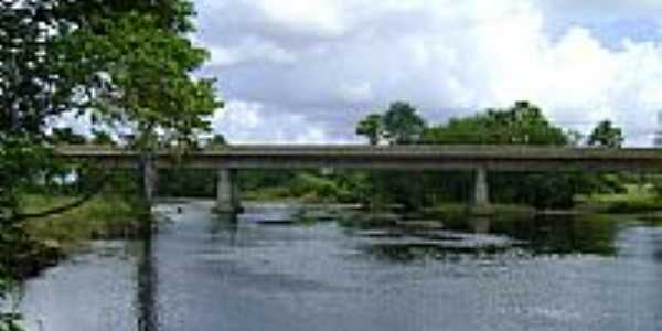 Ponte sobre o Rio da Rasa-Foto:Alan.Kardec