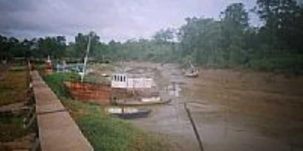 Porto de Amapá-Foto:Alan.Kardec