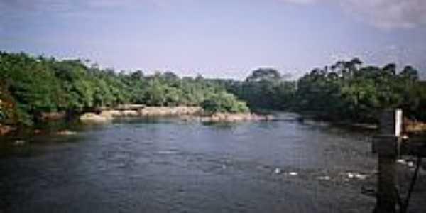 Rio Calçoene em Amapá-Foto:Alan.Kardec