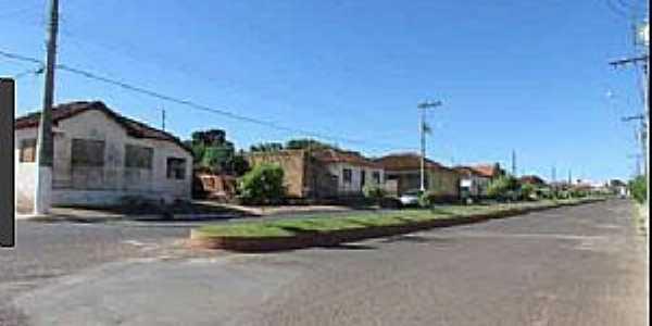 Brejo Bonito-MG-Avenida Principal-Foto:acervophotocrzdafortaleza.