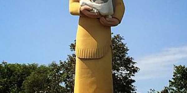 Brumadinho-MG-Estátua do Indio Vaqueiro-Foto:A Máxima