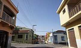 Bueno Brandão - Ruas centrais de Bueno Brandão-MG-Foto:Ernandes C Santos