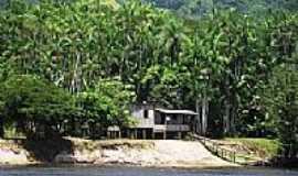 Amapari - Amapari-AP-Casa às margens do Rio Amapari-Foto:Hélida Pennafort