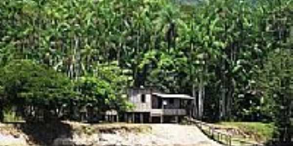 Amapari-AP-Casa às margens do Rio Amapari-Foto:Hélida Pennafort