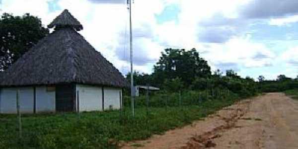 Caatinga-MG-Entrada do distrito-Foto:Denis Conrado