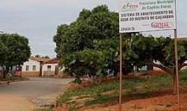 Caçarema - Caçarema-MG-Entrada do distrito-Foto:aquiondeeumoro.