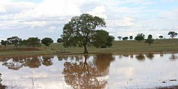 Caçarema-MG-Lagoa Bom Sucesso-Foto:aquiondeeumoro.