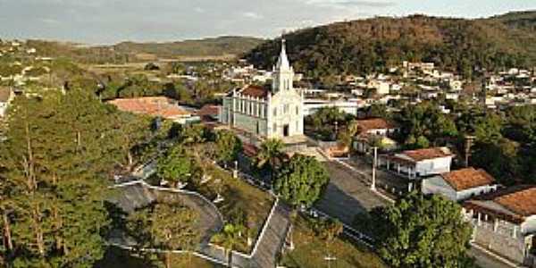 Imagens da cidade de Cachoeira da Prata - MG - Foto Prefeitura Municipal