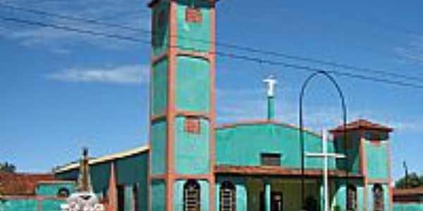 Igreja de N.Sra.Aparecida em Cachoeira Dourada-Foto:Altemiro Olinto Cris…