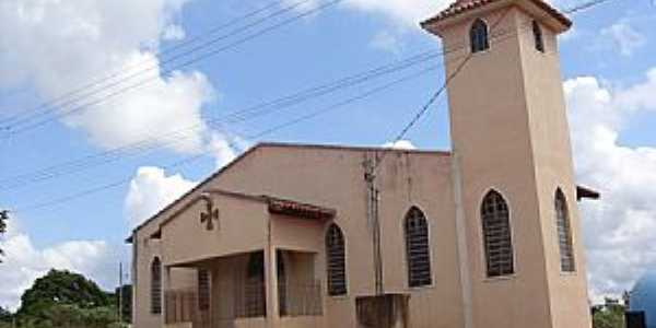 Caetanópolis-MG-Igreja no Bairro Dimas-Foto:Frank Alcino