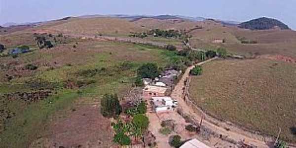 Caiapó-MG-Vista do Distrito e região-Foto: Job Drones