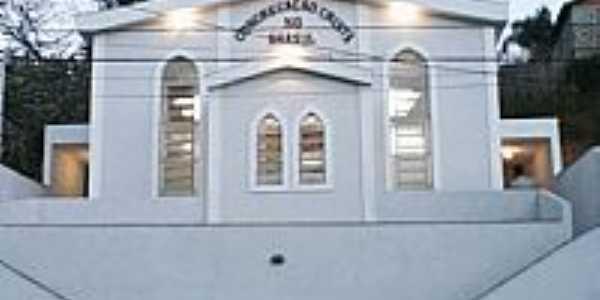 Igreja da Congregação Cristã do Brasil em Cajuri-Foto:Congregação Cristã.NET