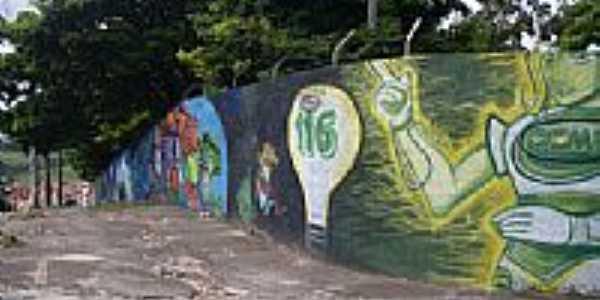 Muro da Cemig-Foto:carlos nazareth