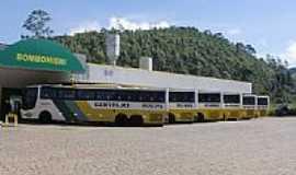 Cambuí - Estação Rodoviária de Cambuí-MG-Foto:montanha