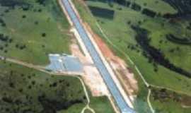 Campo Belo - Vista aerea do aeroporto de Campo belo, Por Talita Mendes