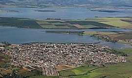 Campo do Meio - Campo do Meio-MG-A cidade e o Lago de Furnas-Foto:www.represadefurnas.com.br