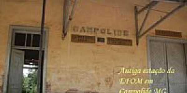 Antiga estação da EFON em Campolide-Foto:Ronaldo Fernandes Ol…