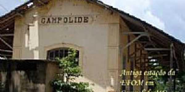 Antiga estação da EFON em Campolide-Foto:Ronaldo Fernandes Ol….