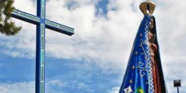 Maior imagem de N.S Aparecida da região mais de 17 metros, Por Erildo Nunes Frazão