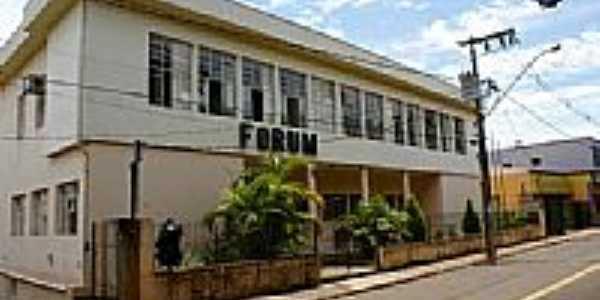 Forum da cidade de Campos Gerais-Foto:STen Costa Manso