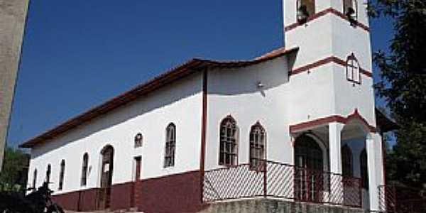 Cana Verde-MG-Capela de N.Sra.Aparecida no Povoado Cerradinho-Foto:VICENTE FREIRE BARBOSA