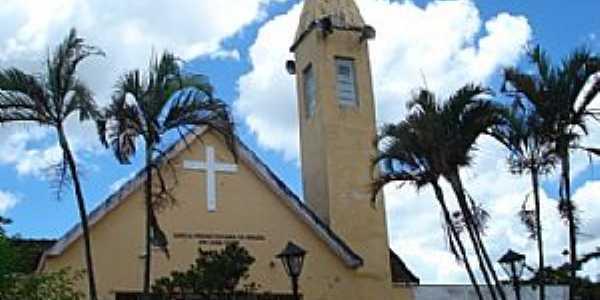 Cana Verde-MG-Igreja Presbiteriana-Foto:VICENTE FREIRE BARBOSA