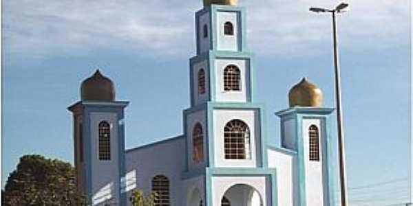 Canabrava-MG-Paróquia da Sagrada Família-Foto:dioceseparacatu.