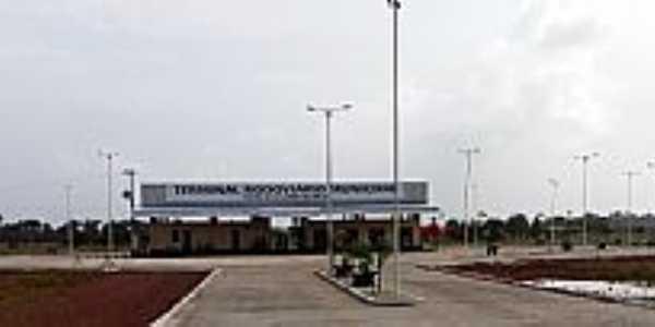 Calçoene-AP-Terminal Rodoviário-Foto:Alan Kardec