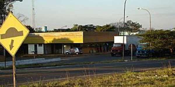 Posto de fiscalização em Capetinga - MG - Por Alexandre Bonacini