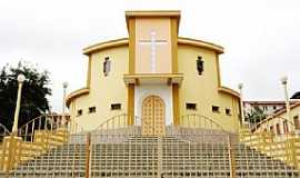 Carandaí - Carandaí-MG-Igreja do Sagrado Coração de Jesus-Foto:camaracarandai.mg