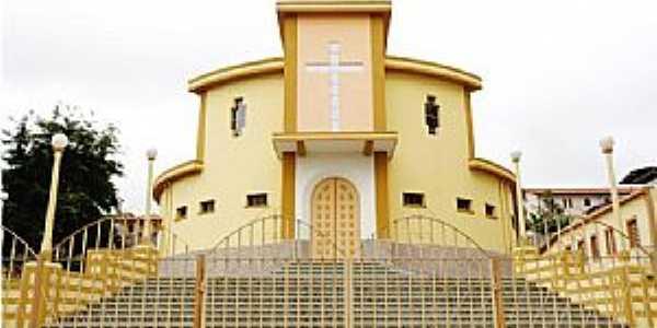 Carandaí-MG-Igreja do Sagrado Coração de Jesus-Foto:camaracarandai.mg