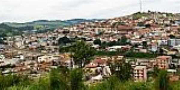 Carandaí-MG-Vista panorâmica da cidade-Foto:camaracarandai.mg.
