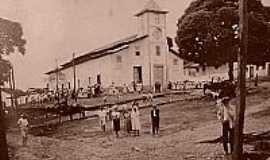 Carbonita - Carbonita-MG- Matriz do Sagrado Coração de Jesus em 1937-Foto:carbonita.blogspot.com.br