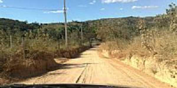 Estrada rural em Carioca-Foto:Arthur Lucas Pereira