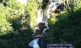 Carmo de Minas - Carmo de Minas-MG-Cachoeira do Canaã-Foto:JCDAMASCENO