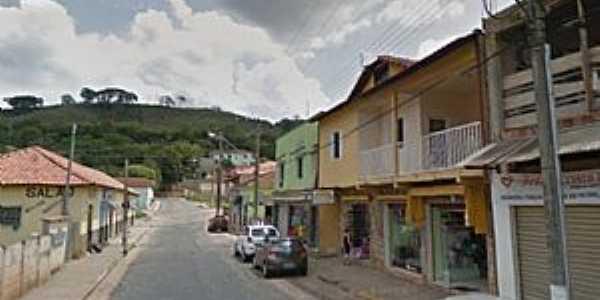 Carmo de Minas-MG-Rua da cidade-Foto:O Popular.net