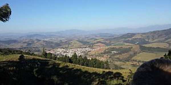 Carmo de Minas-MG-Vista da cidade e região-Foto:PM-Facebook