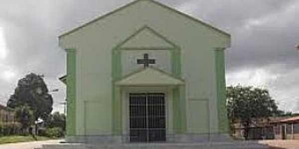 Clevelândia do Norte-AP-Igreja de N.Sra.das Graças-Foto:oiapoquenossahistoria.blogspot.com