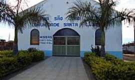 Cascalho Rico - Cascalho Rico-MG-Nova Igreja no Distrito de Santa Luzia da Boa Vista-Foto:Anivaldo Gonçalves